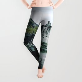 Kilchurn Castle Scotland Leggings