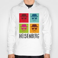 popart Hoodies featuring Heisenberg Popart by Nxolab