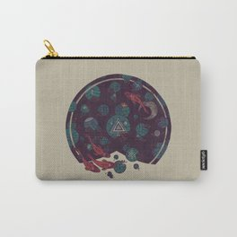 Amongst the Lilypads Carry-All Pouch