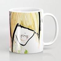 girl power Mugs featuring Girl Power by Juan I. Scocozza