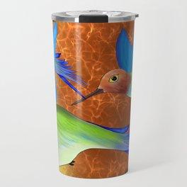 Sunrise Hummingbirds Travel Mug