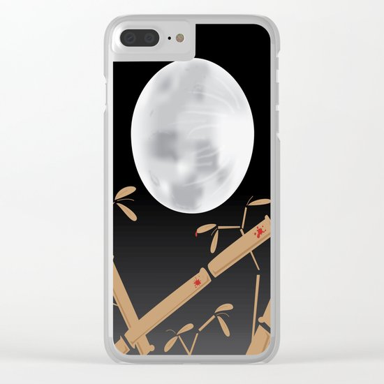 Tale of the Bamboo Cutter Clear iPhone Case