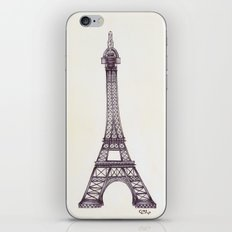 Merci Beaucoup iPhone & iPod Skin