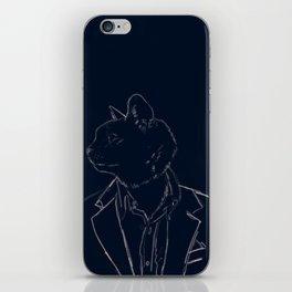 Dapper Cat iPhone Skin