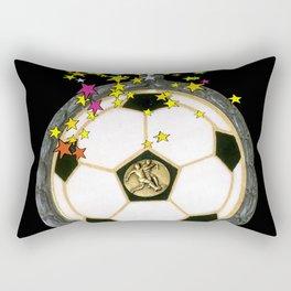 All Star Soccer Medal Rectangular Pillow