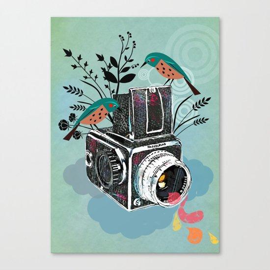 Vintage Camera Hasselblad Canvas Print