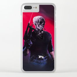 Cobra Skeleton Clear iPhone Case