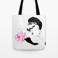 helen Tote Bags featuring Helen by youdesignme
