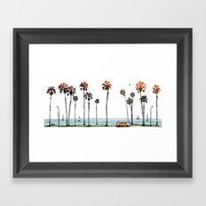 LA love  Framed Art Print
