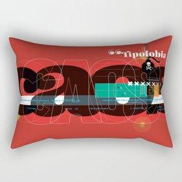 Tipofobia Rectangular Pillow