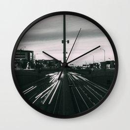 Decarie Lights Wall Clock