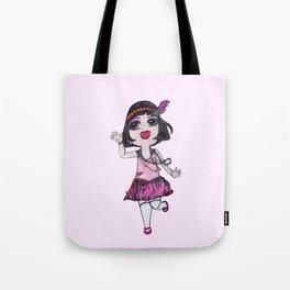 Chibi Flapper Tote Bag