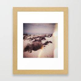 X . M O S S A Framed Art Print