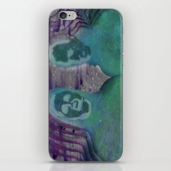 """Instrumental Tourist"" by Mike Zell iPhone & iPod Skin"