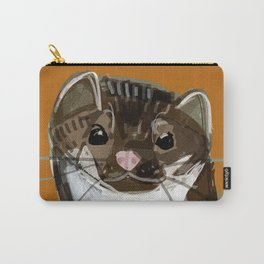 Sweet Stone Marten ( Martes foina ) Carry-All Pouch