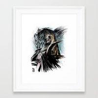 thranduil Framed Art Prints featuring Thranduil by Melo Monaco