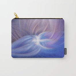 A Winter Night Twirled Carry-All Pouch