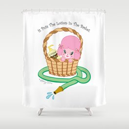 It puts the lotion in the basket. // Silence of the Lambs Shower Curtain