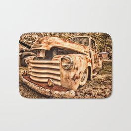 Old pickup ( Photo by Antal Ullmann ) Bath Mat