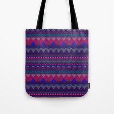 KNITTED AZTEC PATTERN  Tote Bag