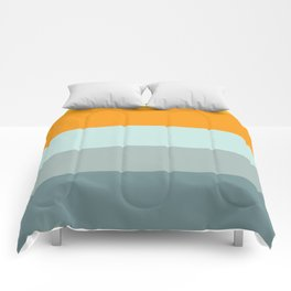 Zen Ocean Stripes Comforters
