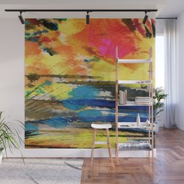 Art Abstraction 1K by Kathy Morton Stanion Wall Mural