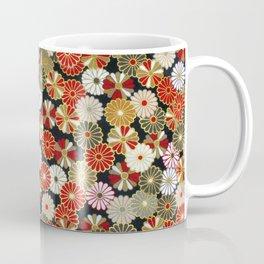 Golden Chrysanthemums Coffee Mug