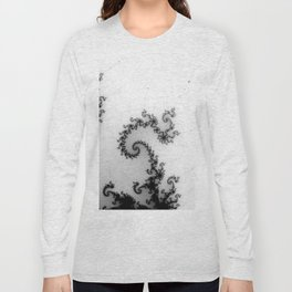 detail on mandelbrot set - pseudopod Long Sleeve T-shirt