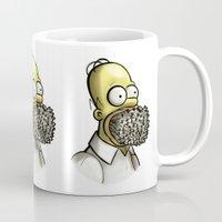 simpson Mugs featuring Homer Simpson [File Photo] by ieIndigoEast