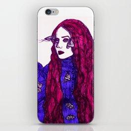 Edith Cushing (Haunted Beauty Series) iPhone Skin