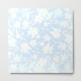 Spring Day Flowers Metal Print