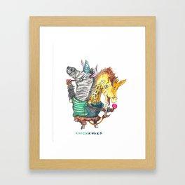 KnickKnakk Framed Art Print
