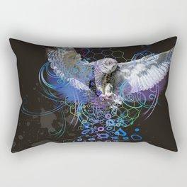 Owl Landing Rectangular Pillow