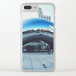 Chicago Bean Clear iPhone Case