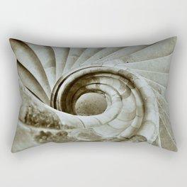 Sand stone spiral staircase 10 Rectangular Pillow