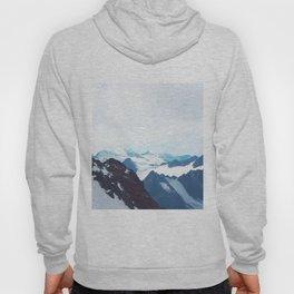 No limits - mountain print Hoody