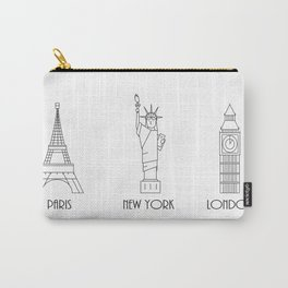 Three Cities Carry-All Pouch