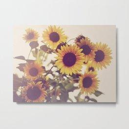 Sunflowers Metal Print