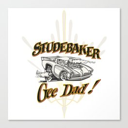 hot rod tee Canvas Print