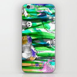 Jungle Green iPhone Skin