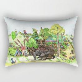 Witchington Gardens Rectangular Pillow