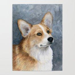 Dog 89 Corgi Dog Poster