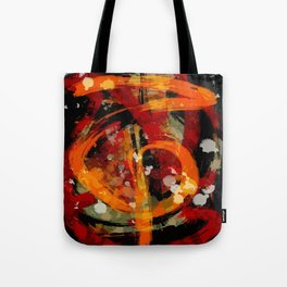 Into the dragon abstract  art Tote Bag
