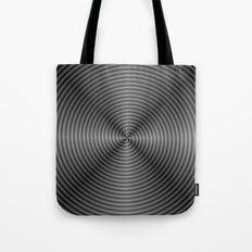 Spiral Quartered in Monochrome Tote Bag