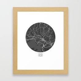 Olso Framed Art Print