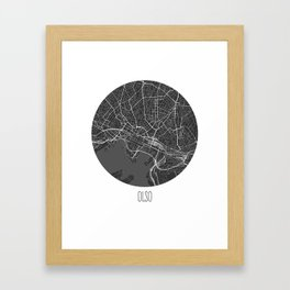 Olso Framed Art Print