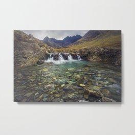 Fairy Pools, Isle of Skye Metal Print