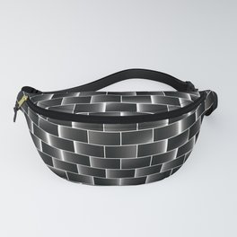 Silver set of tiles Fanny Pack