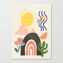 Abstract Summer 7 Canvas Print