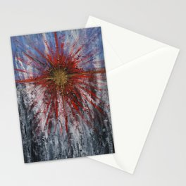 Space Explosion Stationery Cards
